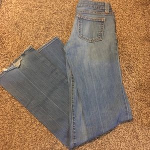 GAP Straight Ultra Low Rise Jeans (4 Long)
